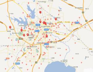 合肥驾校地图